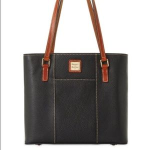 Large Dooney and Bourke Leather Shopper Tote Bag